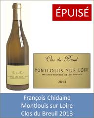 Chidaine - Montlouis Clos du Breuil 2013 (Petit)