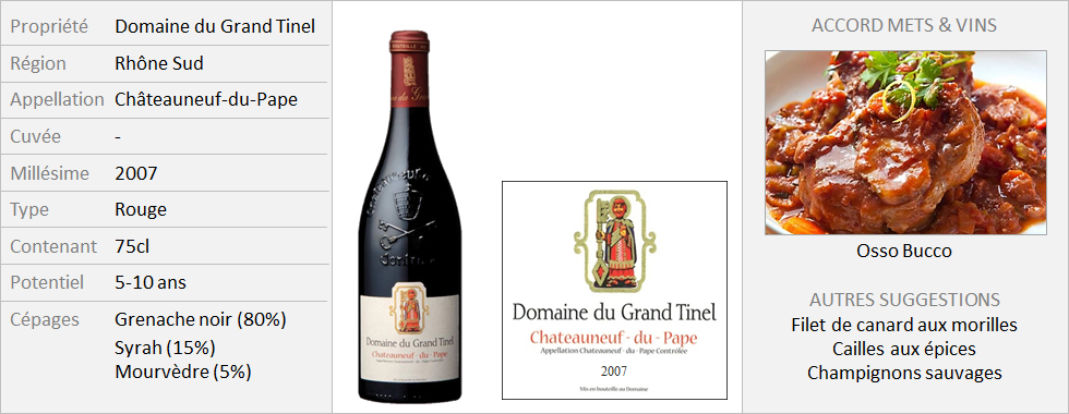 Grand Tinel - CNP Rouge 2007 (Grand)