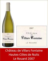 VillarsFontaine - Hautes-Côtes-de-Nuits Le Rouard 2007 (Petit)