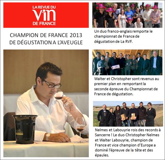 Walter Labouyrie - Champion de France RVF