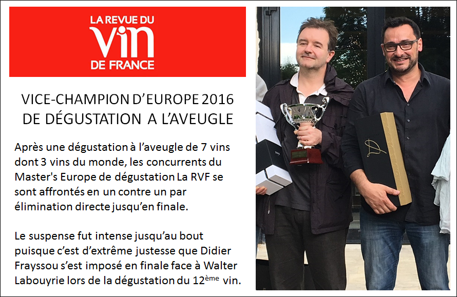 Walter Labouyrie - Master Europe 2016