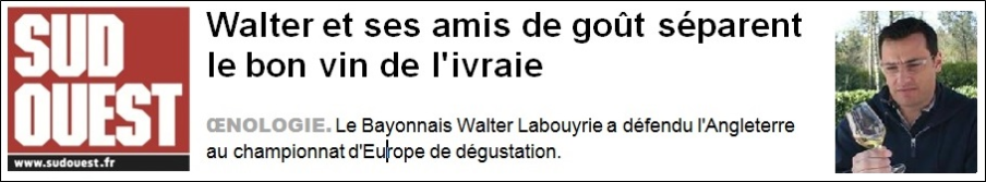 Walter Labouyrie - Sud Ouest