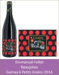 Fellot - Beaujolais Gamay à Petits Grains 2014 (Petit)