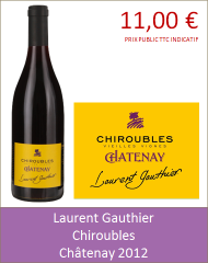 Gauthier - Chiroubles Châtenay 2012 (Petit)