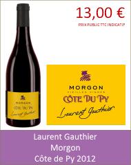 Gauthier - Morgon Côte de Py 2012 (Petit)