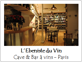 Ebeniste du Vin - Bar à vins - Paris