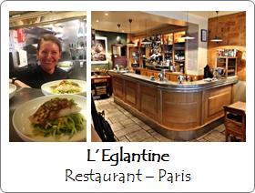 Eglantine - Restaurant - Paris