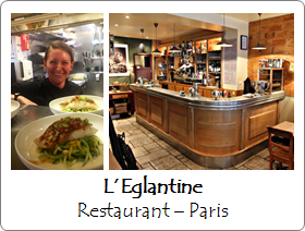 Eglantine - Restaurant - Paris