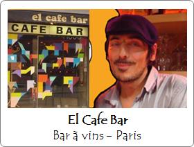 El Cafe Bar - Bar à vins - Paris