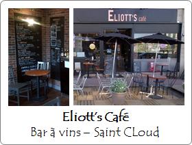 Eliotts Cafe - Bar à vins - Saint Cloud