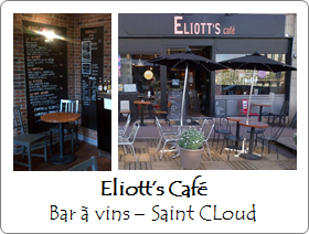 Eliotts Cafe - Bar à vins - Saint Cloud