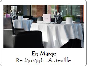 En Marge restaurant aureville toulouse