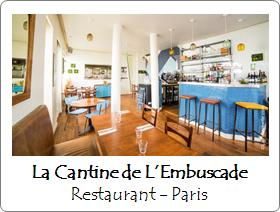 La Cantine de l'embuscade Paris