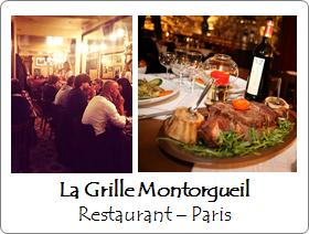 La Grille Montorgueil - Restaurant - Paris
