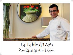 La Table d'Uzès - Restaurant - Uzès