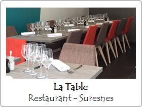 la table restaurant suresnes