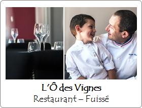 L'Ô des Vignes - Restaurant - Fuissé