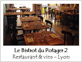 Le Bistrot du Potager restaurant Lyon