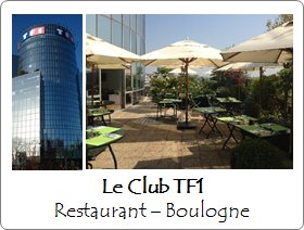 Le Club TF1 - Restaurant - Boulogne