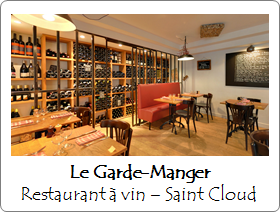 Le Garde Manger - Restaurant - Saint-Cloud
