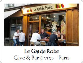 Le Garde Robe - Bar à vins - Paris
