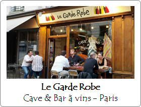 Le Garde Robe - Bar à vins - Paris