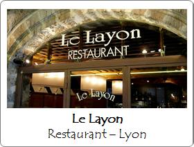 Le Layon restaurant Lyon