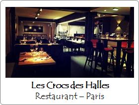 Les Crocs des Halles - Restaurant - Paris