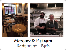 Merguez & Pastrami - Restaurant - Paris