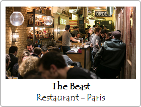 The beast restaurant paris