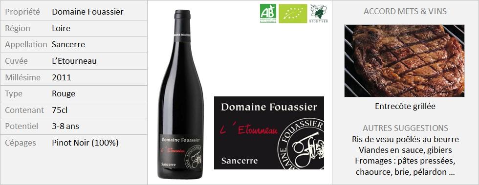 Fouassier Sancerre Etourneau 2011 (Grand)