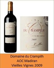 Crampilh - Madiran Vieilles Vignes 2009 (Petit)