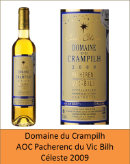 Crampilh - Pacherenc Céleste 2009 (Petit)