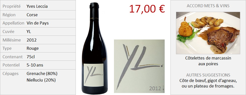 Leccia - YL rouge 2012 (Grand)