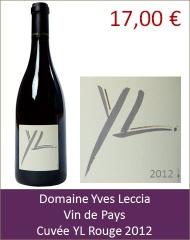 Leccia - YL rouge 2012 (Petit)