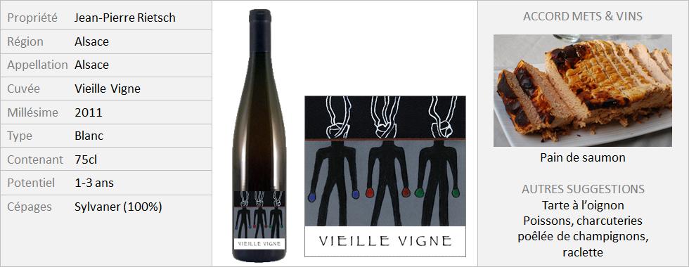 Rietsch - Sylvaner Vieille Vigne 2014 (Grand)