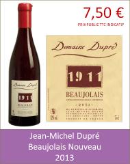 Dupre - Beaujolais Nouveau 2013 (Petit)