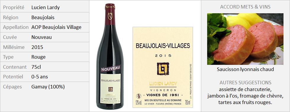 Lardy - Beaujolais Nouveau 2015 (Grand)