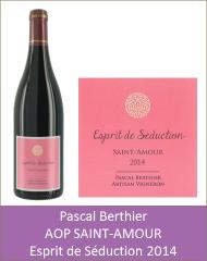 Pascal Berthier - Saint-Amour Esprit de Seduction 2014 (Petit)