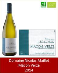 Nicolas Maillet - Macon Verze 2014 (Petit)