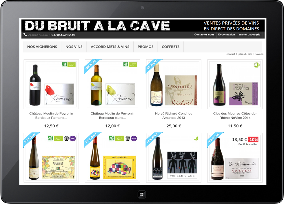Terroirs and co - du bruit a la cave - vente de vins en ligne en direct des domaines