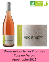 Terres Promises - Apostrophe 2015 (Petit)