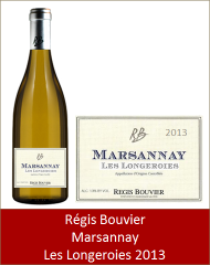 Bouvier - Marsannay blanc Longeroies 2013 (Petit)
