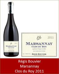 Bouvier - Marsannay rouge Clos du Roy 2011 (Petit)