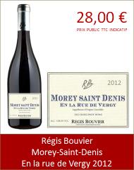 Bouvier - Morey-Saint-Denis, En la rue de Vergy 2012 (Petit)