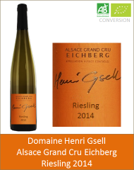 Henri Gsell - Alsace Grand Cru Riesling Eichberg 2014 (Petit)