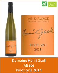 Henri Gsell - Alsace Pinot Gris 2014 (Petit)