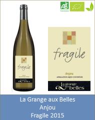 Grange aux Belles - Anjou blanc Fragile 2015 (Petit)