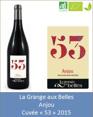 Grange aux Belles - Anjou rouge 53 2013 (Petit)