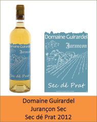 Guirardel - Jurançon Sec Dé Prat 2012 (Petit)